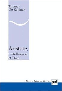 Aristote, l'intelligence et dieu
