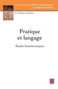 Pratique et language_études hermeneutiques